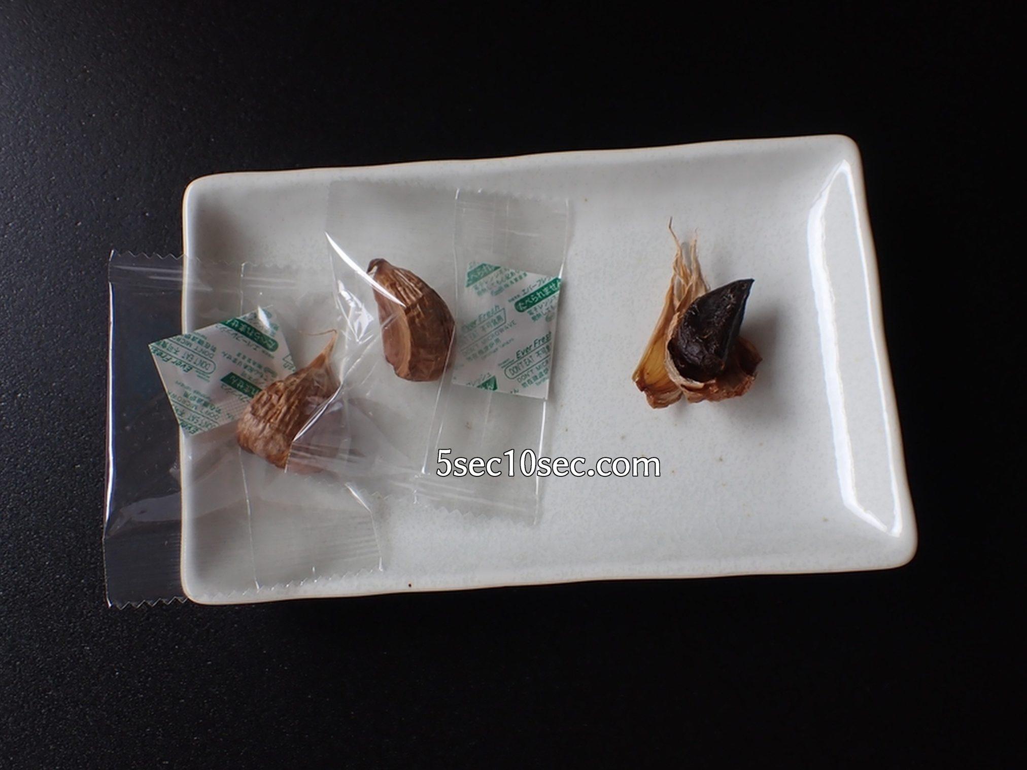 つぶくろ 松尾農園の黒にんにくは海洋深層水使用で、ふっくらやわらかく甘い