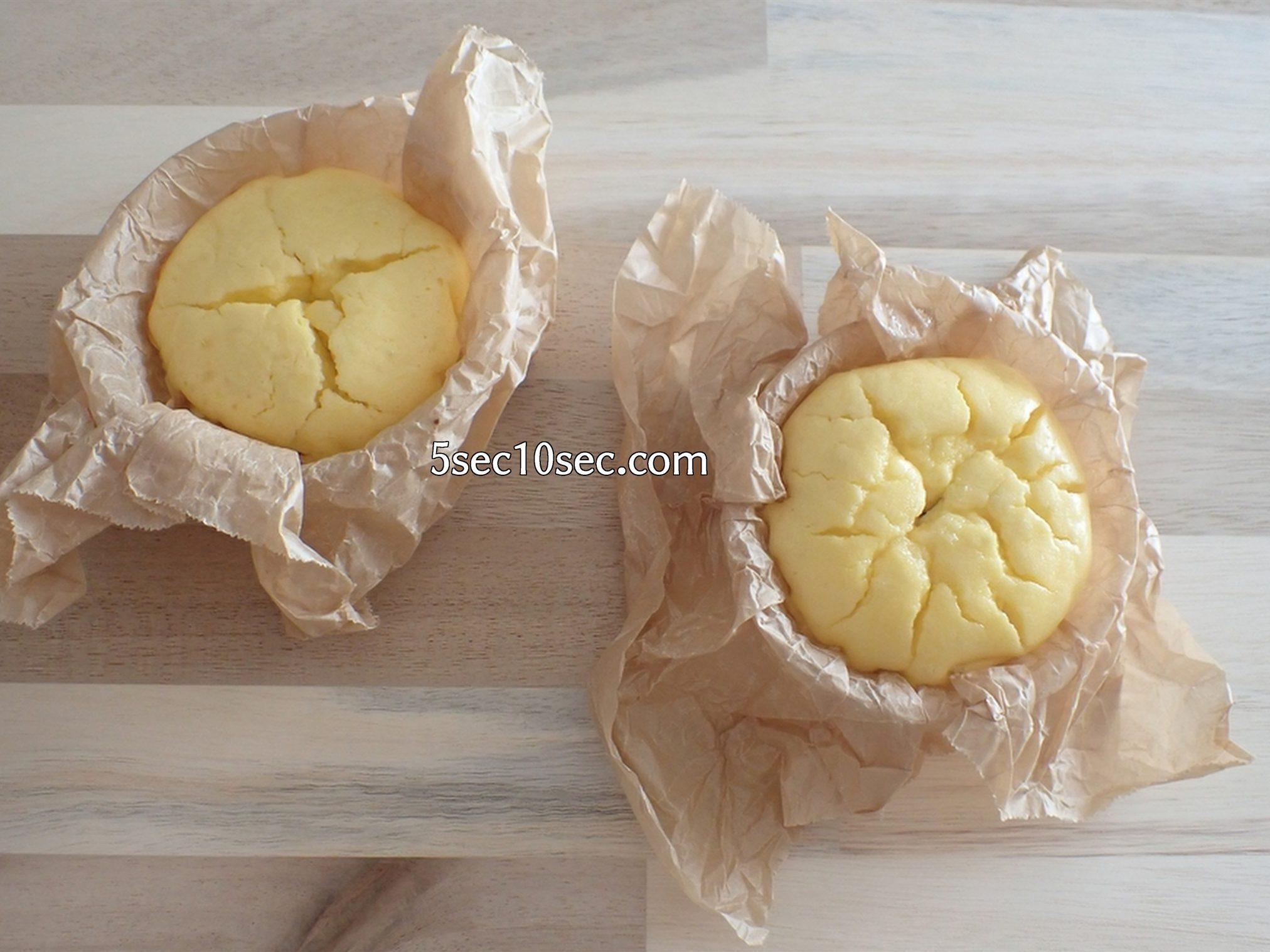 国産の瀬戸内レモンで作ったチーズケーキ