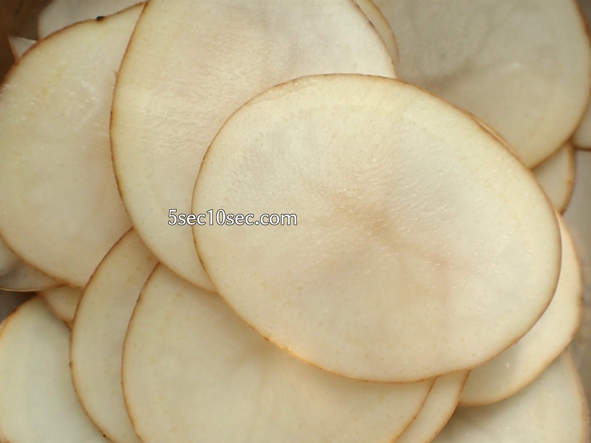 貝印 関孫六 可変式Vスライサー(ガード付き) レギュラー SEKIMAGOROKU スライサーを使ってポテトチップスを作る、作り方、レシピ