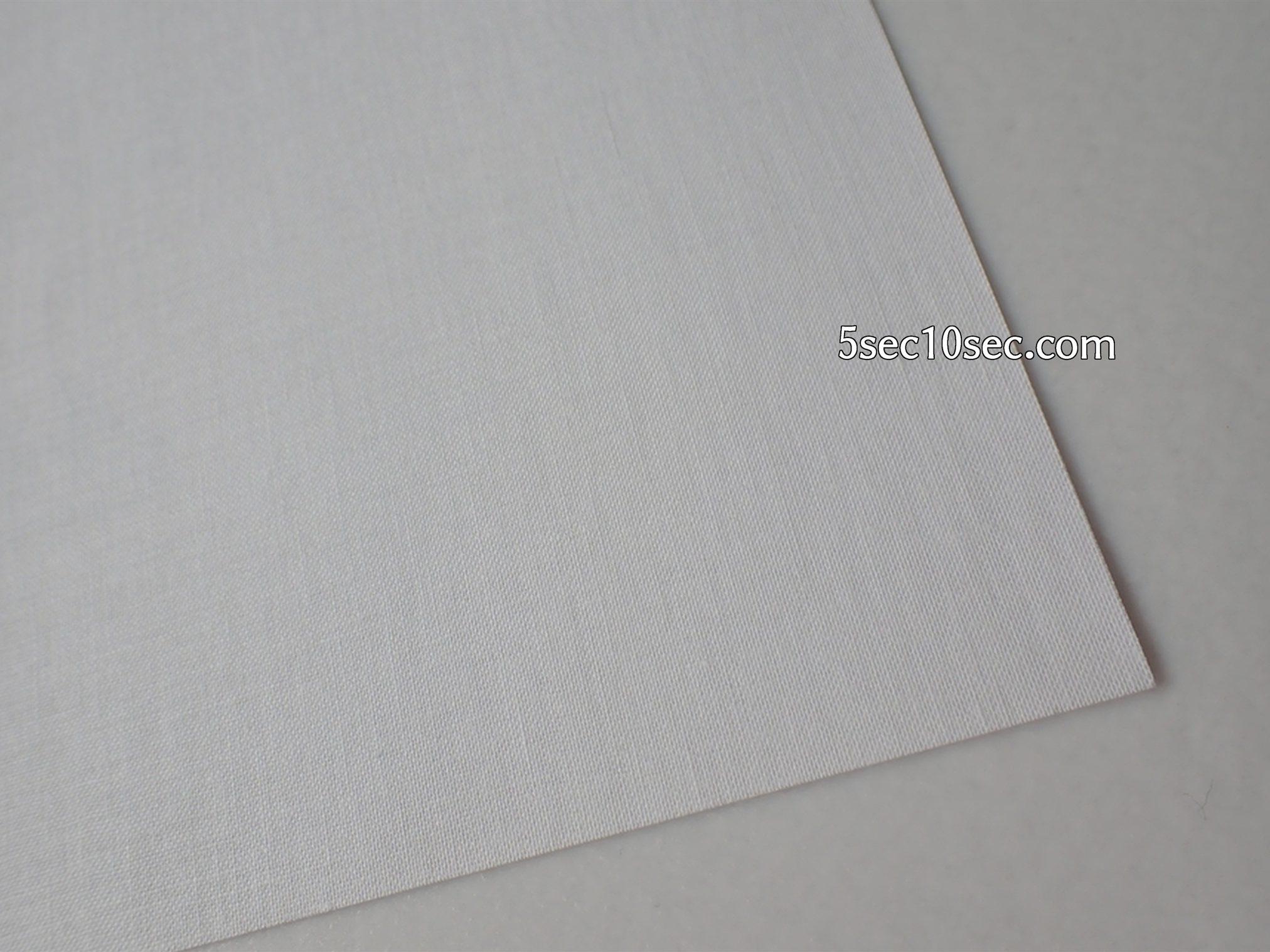 エーワン A-one 布プリ 生地タイプ のりなし A4判 ノーカット 紙みたいに見えるけど綿100%の布です、布の厚さは厚手ではないけど普通の布くらいの厚さはあります