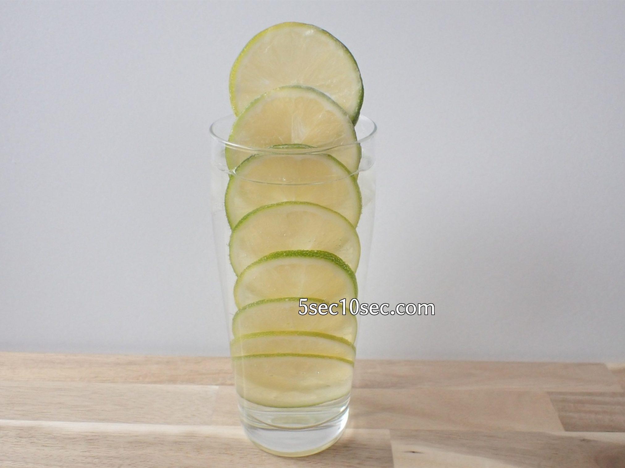 宝酒造 こだわりのレモンサワー用 宝焼酎 スライスしたレモンを並べて冷凍して凍らせるだけで家庭でも簡単にレモンタワーができます