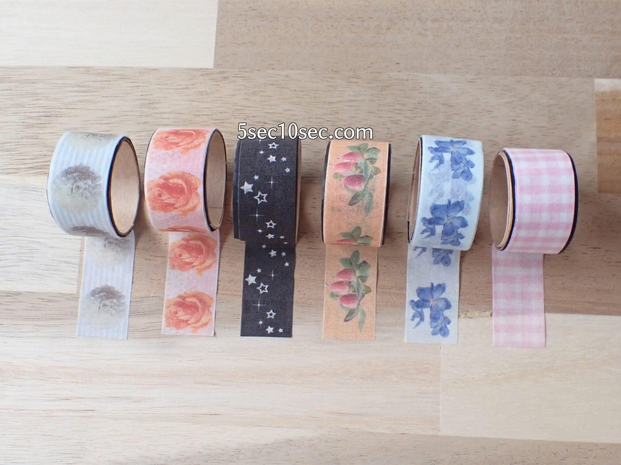 エレコム ELECOM マスキングテープラベル用紙 A4サイズ 3枚入り EDT-MTA4 Bloomee LIFE(ブルーミーライフ)のお花の写真を印刷してみた