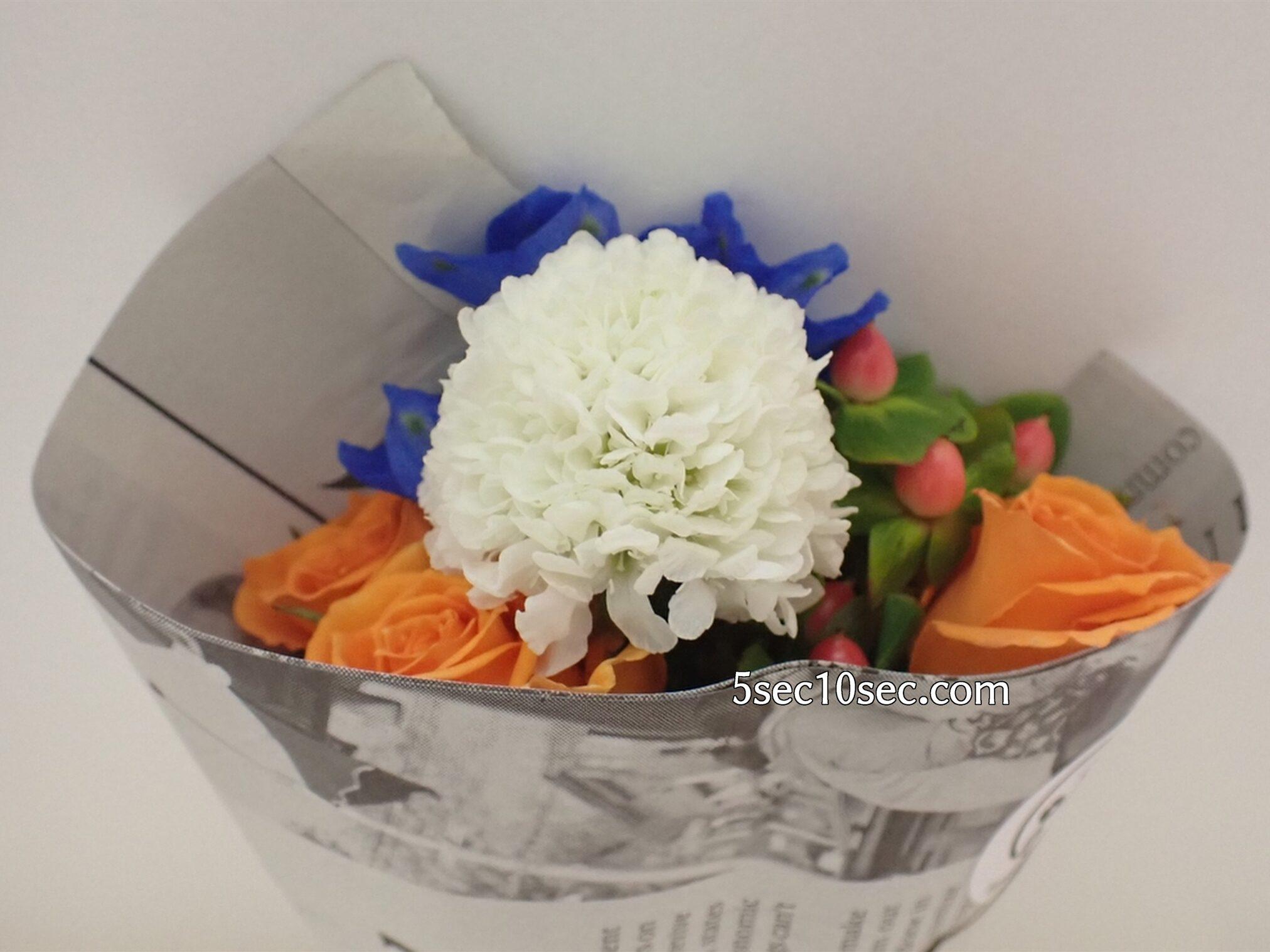 Bloomee LIFE(ブルーミーライフ)レギュラープラン 今週のお花をパッケージから開ける瞬間が楽しい