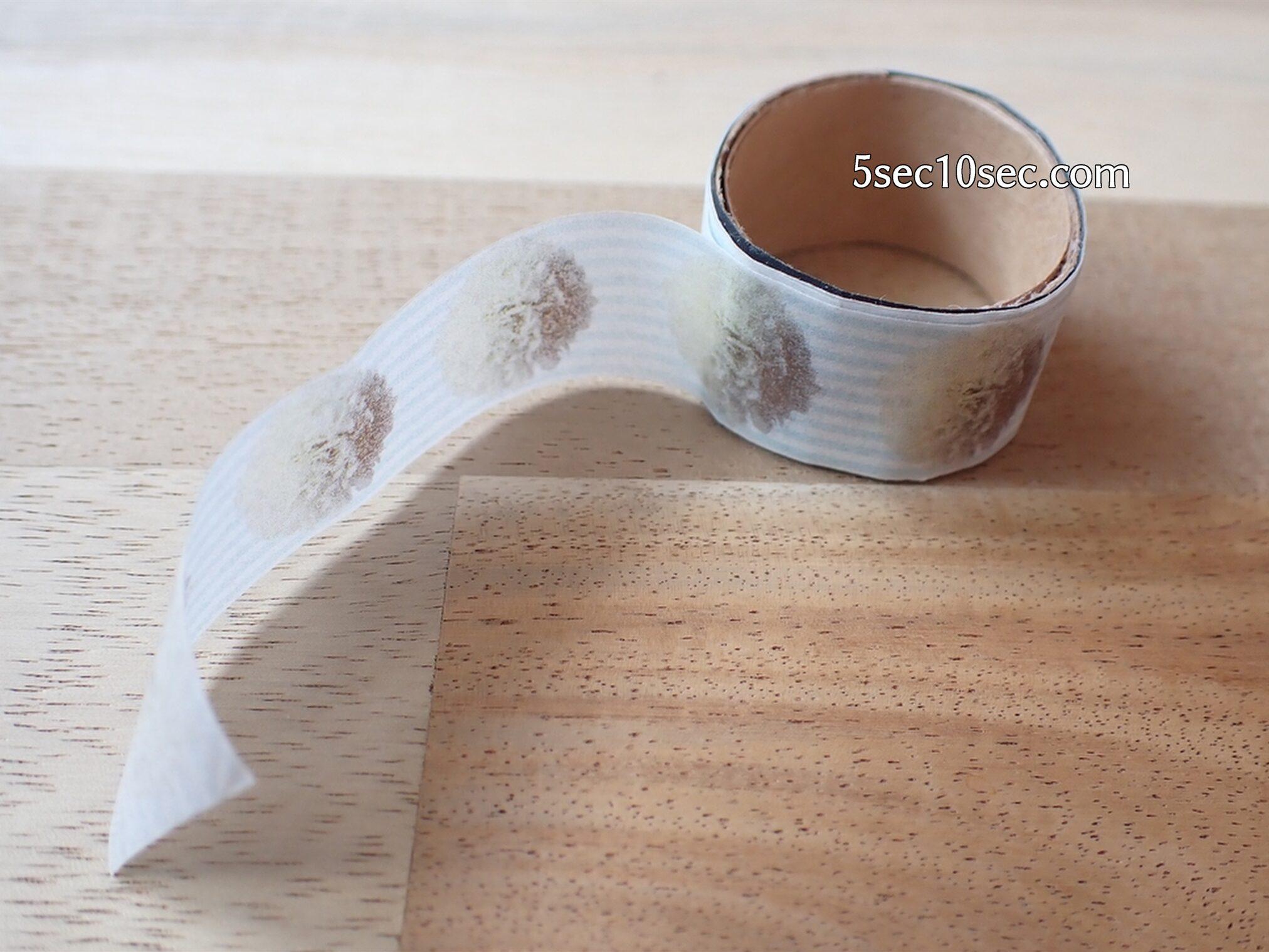 エレコム ELECOM マスキングテープラベル用紙 A4サイズ 3枚入り EDT-MTA4 薄くて低粘着で透けていて、マスキングテープの質感が出ます