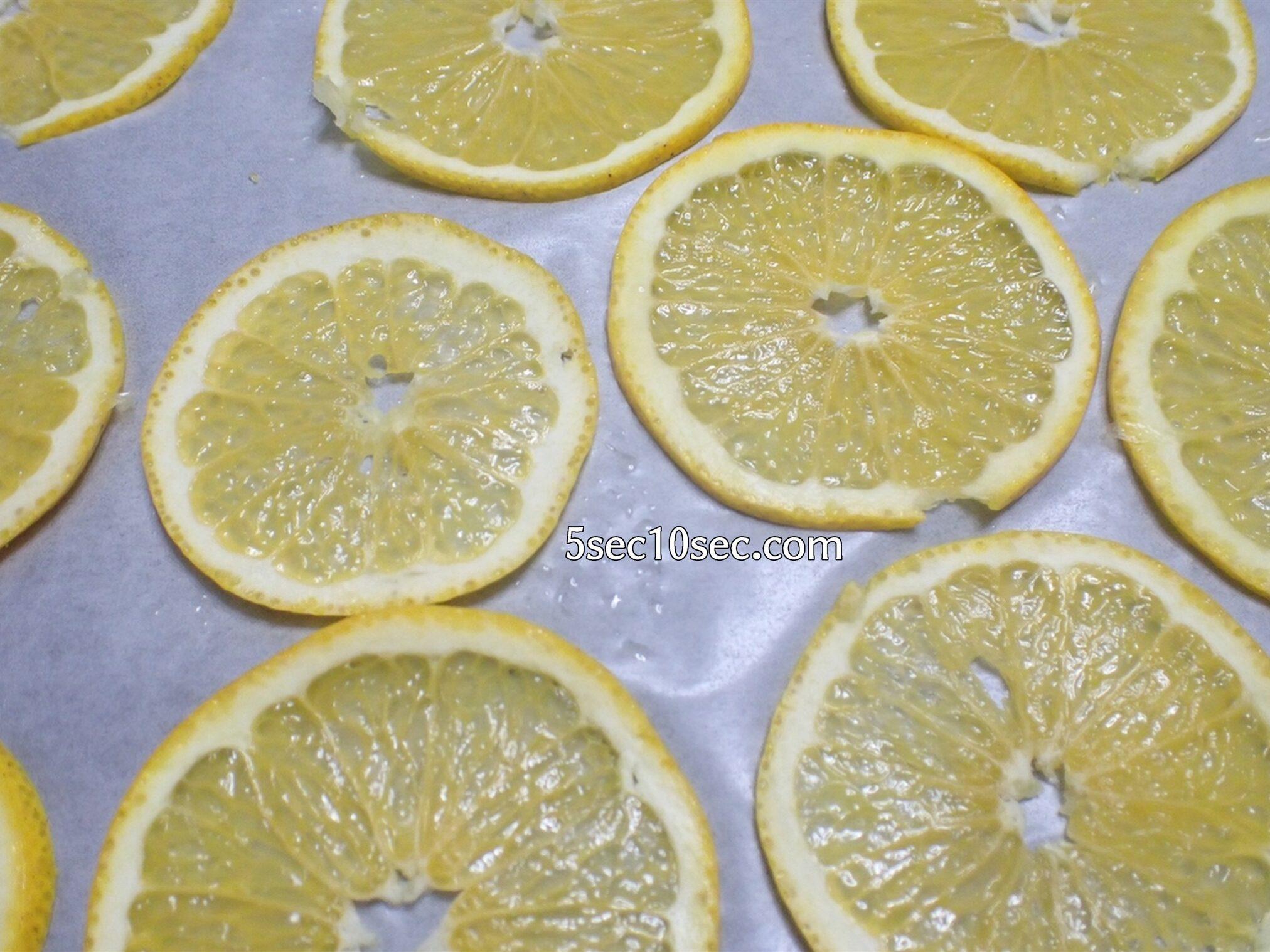 柑橘のドライフルーツの作り方、レシピ