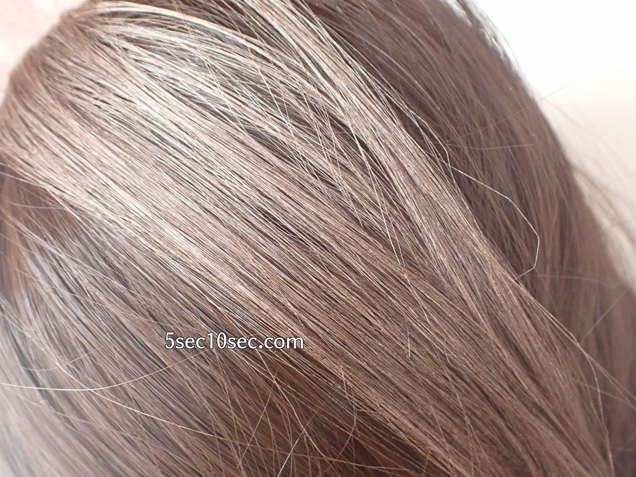 EMAJINY(エマジニー)洗って落とせる1day ヘアカラーワックス ミルクティーアッシュ(薄茶) 暗い色の髪にもしっかり明るく発色します