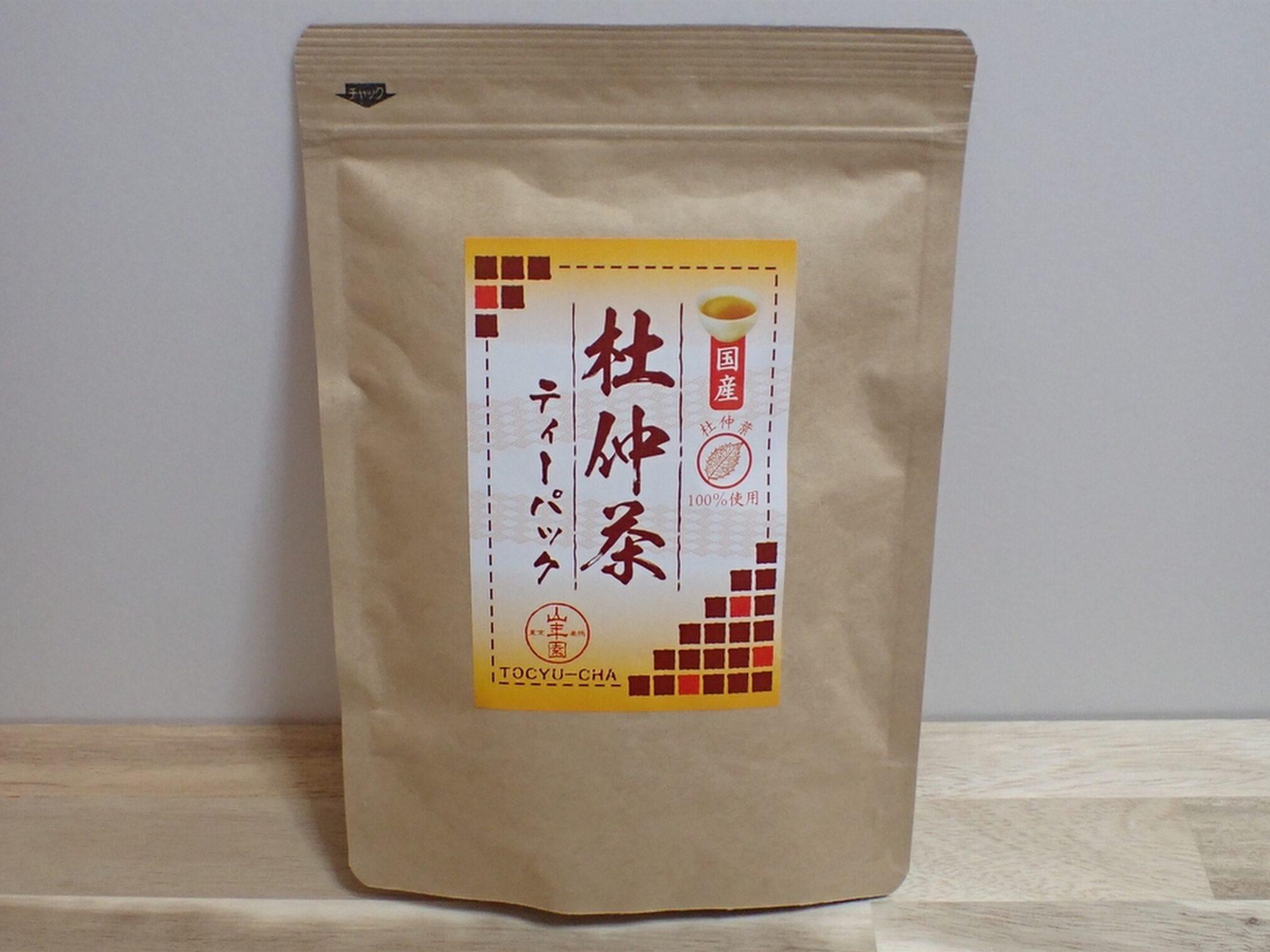 有限会社山年園 杜仲茶 国産 健康茶 パッケージ写真
