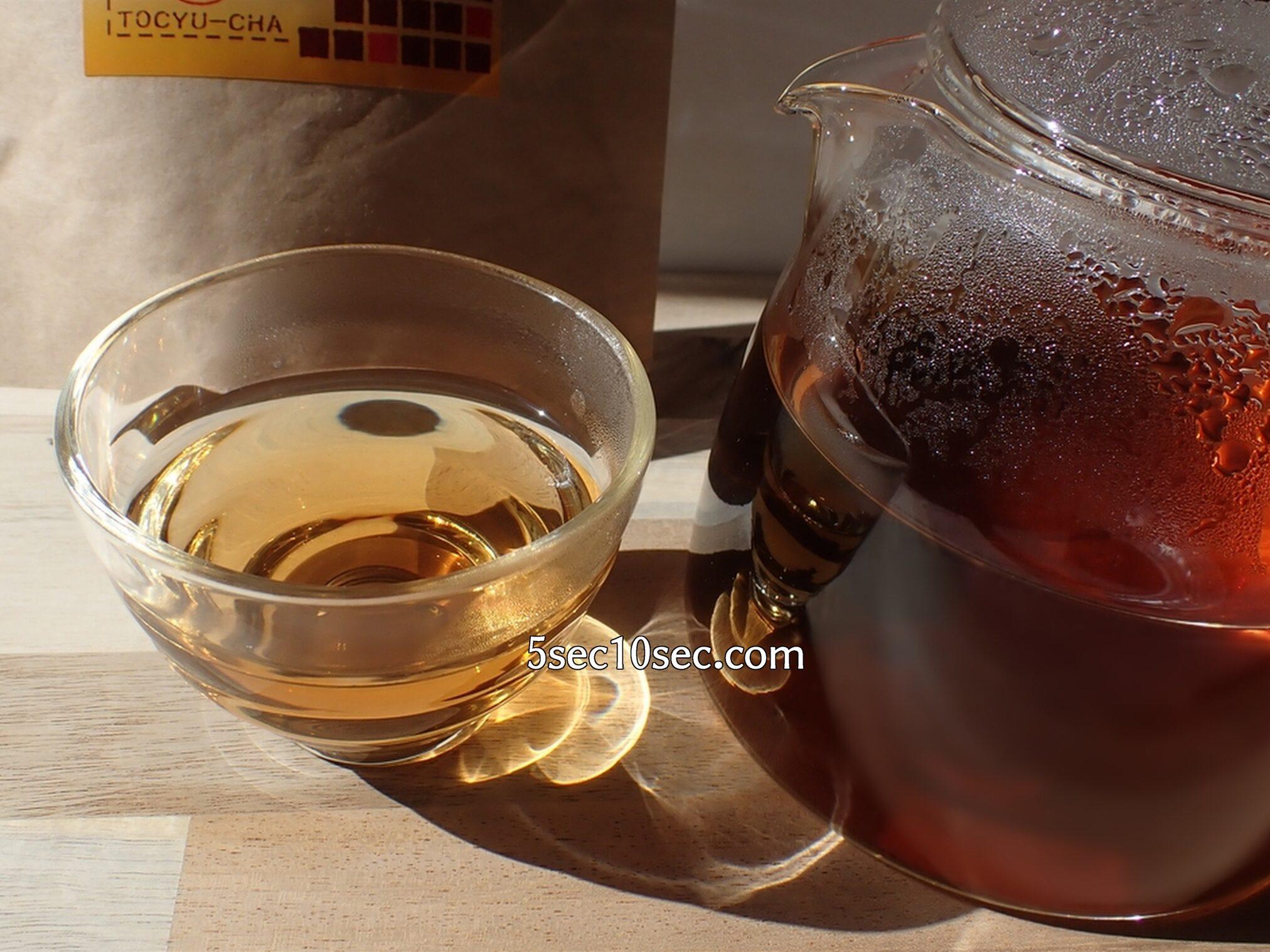 有限会社山年園 杜仲茶 国産 リグナン化合物、イリノイド化合物も含まれるお茶です