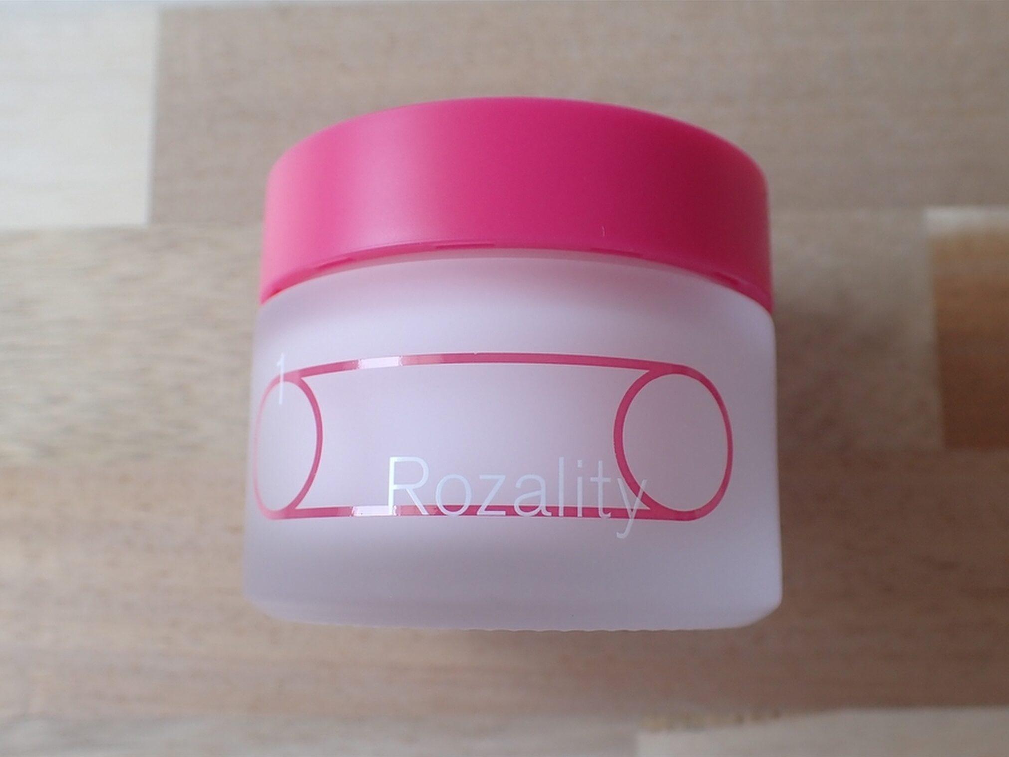 株式会社SISI Rozality ロザリティ ウォータリーマスク 容器の写真