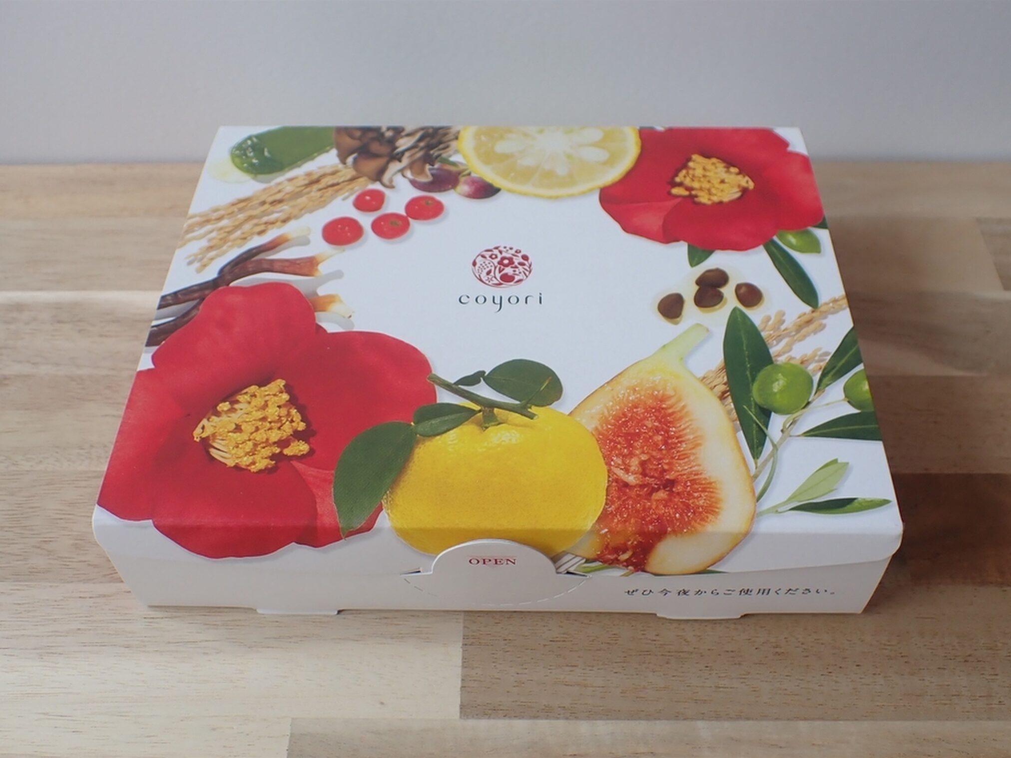 可愛いパッケージで届きます Coyoriトライアルセット 14日間ハリツヤ体験セット 株式会社JIMOS