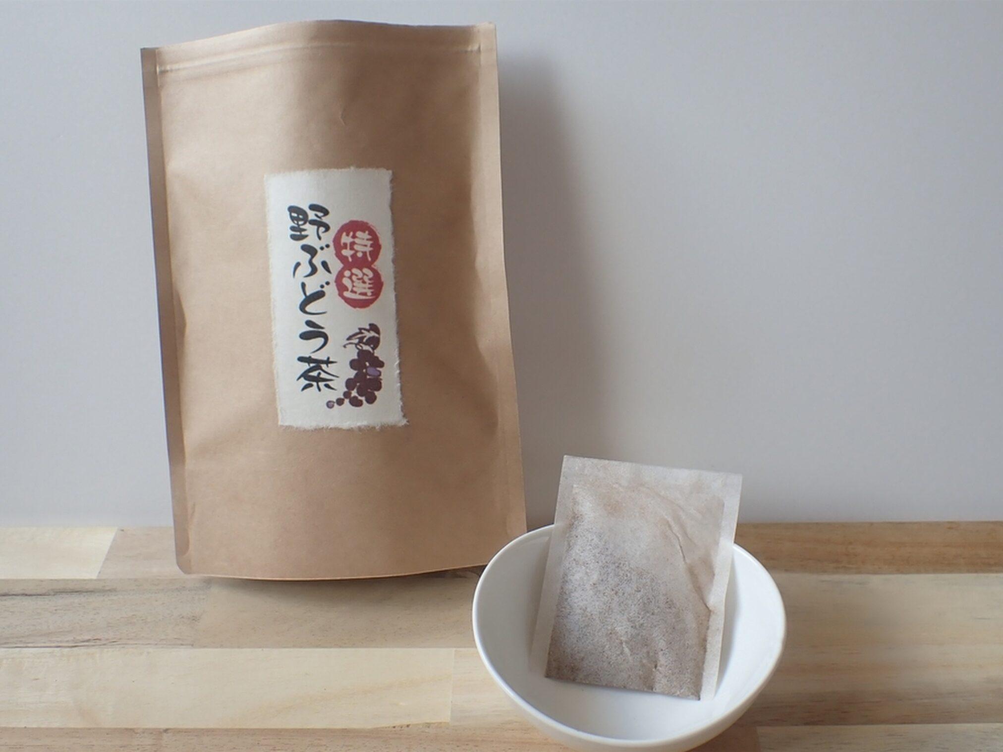 特選 野ぶどう茶(馬ぶどう茶) 血圧・むくみ・肝臓のサポートに良い国産の野ぶどう茶です
