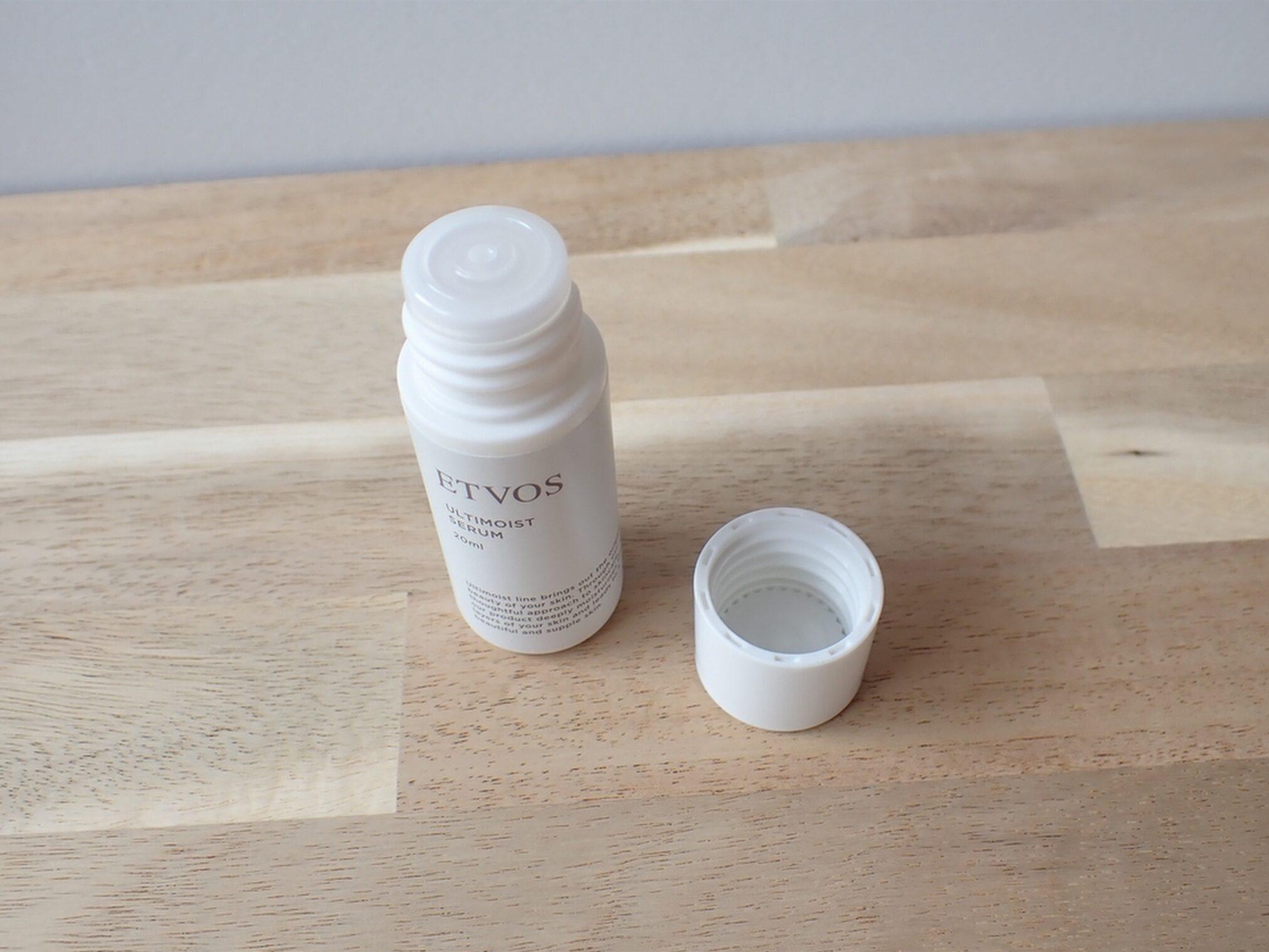 エトヴォス アルティモイスト トライアルキット ETVOS 保湿美容液 アルティモイストセラム 20ml ドロッパーつきでスポイトのように容器を加圧して出すと出しやすいです
