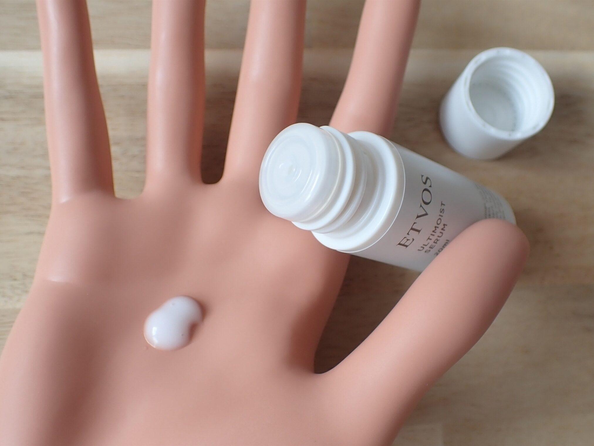 エトヴォス アルティモイスト トライアルキット ETVOS 保湿美容液 アルティモイストセラム 20ml 乳液と美容液の役割をこなします