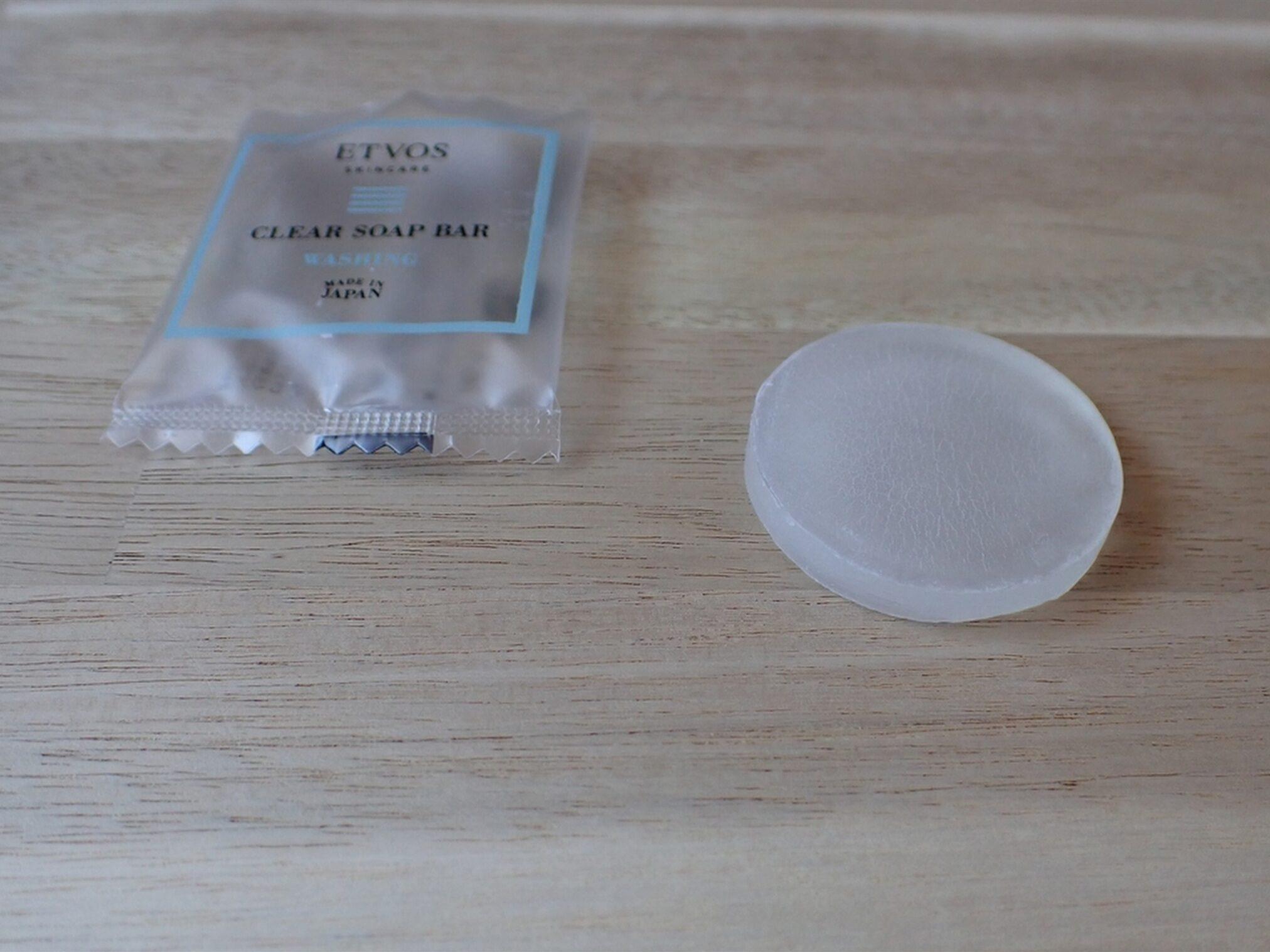 エトヴォス パーフェクトキット クリアソープバー 5g 普段の洗顔にも、ETVOSのミネラルファンデーションのクレンジングにも使えます